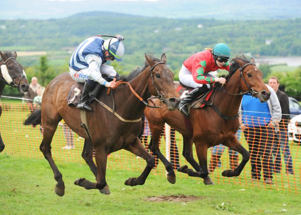 Rossa on a roll with four-timer