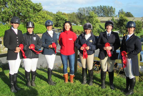 Monaghan riders dominate individual dressage championships