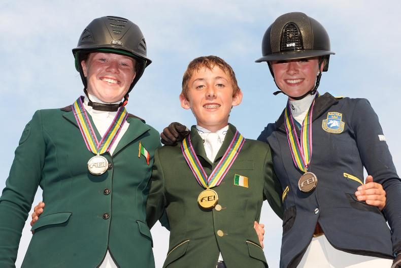 EUROPEAN CHAMPIONSHIPS:  Gold and silver for Irish heroes