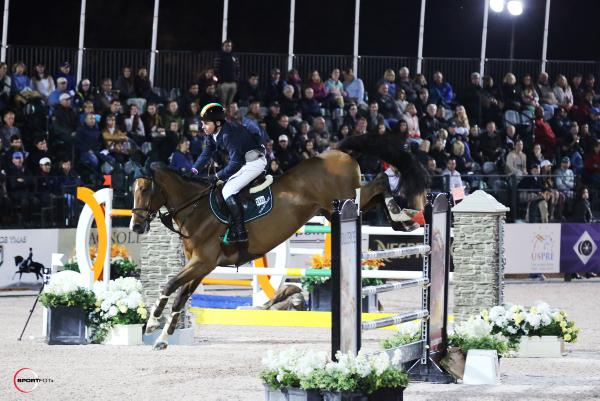 Cian O'Connor edged out in WEF