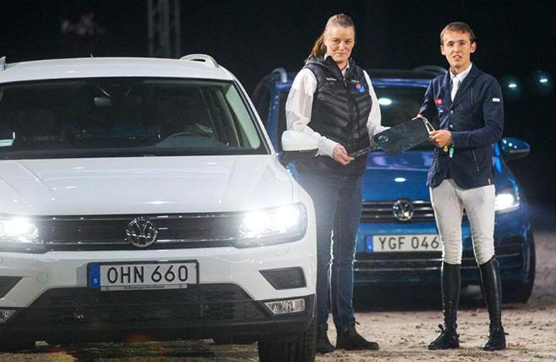 Bertram Allen wins another new car in Sweden