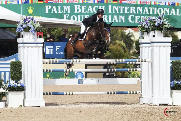 Sweetnam lands Palm Beach win at festival