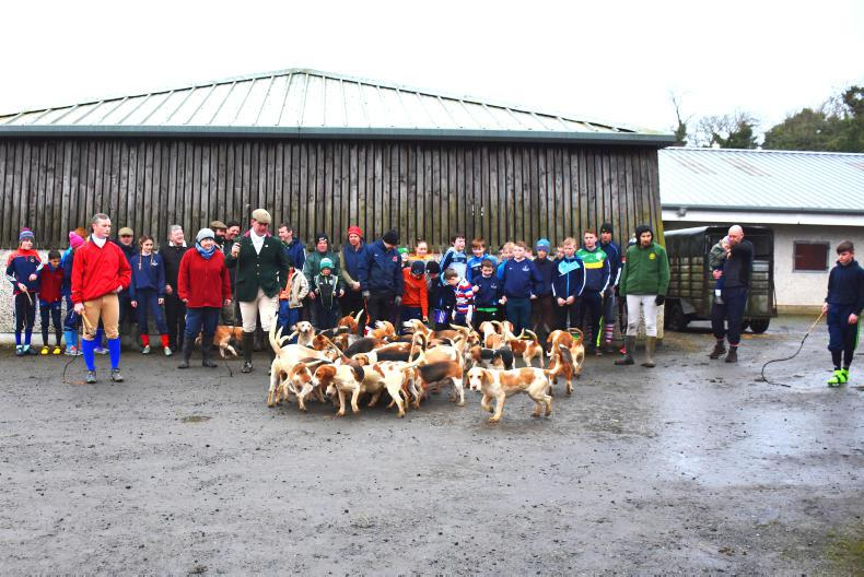 PONY TALES:  Big turnout for Goldburn Beagles meet