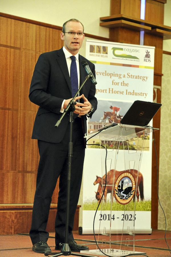 Coveney pledges support for sport horse industry