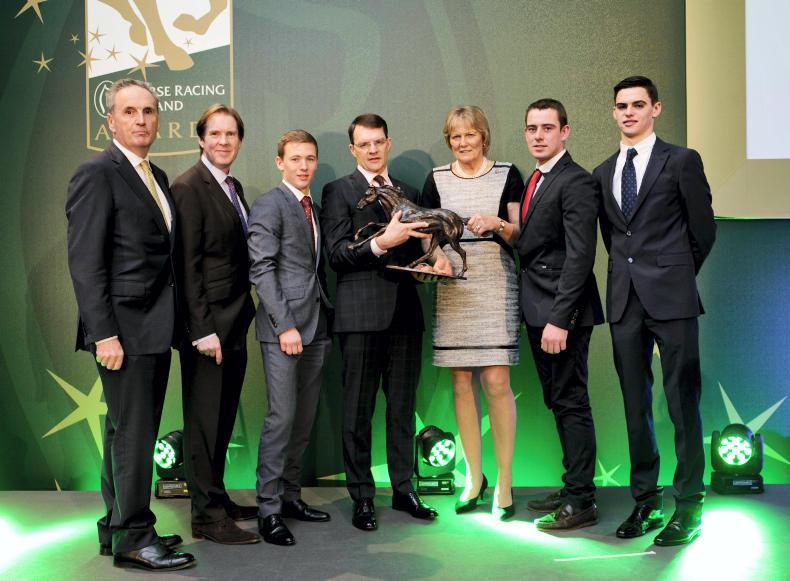 VIDEO: Aidan O'Brien and Jessica Harrington big winners at HRI Awards