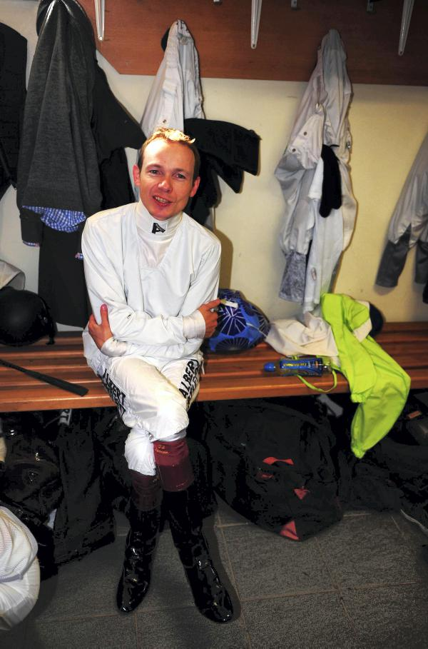 Is Jamie Spencer finished as a jockey?