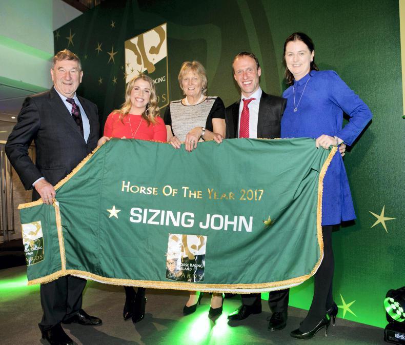 HRI AWARDS: Jessica Harrington takes two for the team