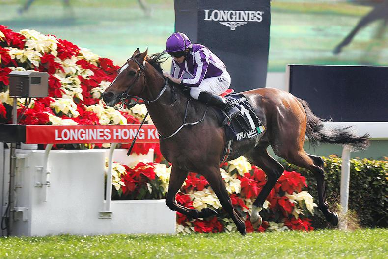 VIDEO: HONG KONG: 'Irreplaceable' Highland Reel goes out with second Vase score