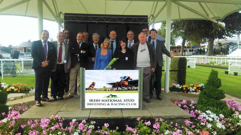THE OWNER: Irish National Stud Racing & Breeding Club