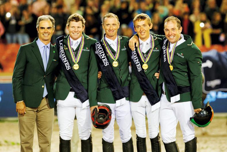 Irish Show Jumping team named RTE Sport 'Team of the Year'