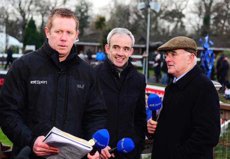 RTE RACING: Hugh survives the cold shoulder