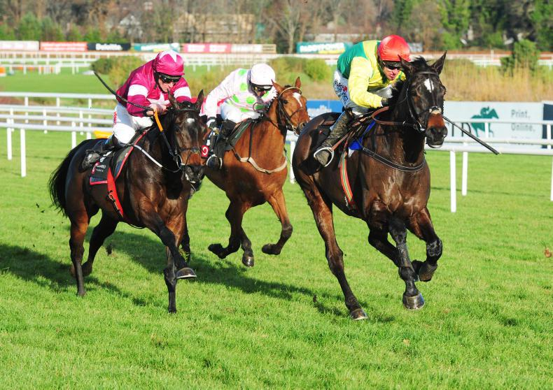 Apple's Jade finds more to pip Supasundae at Leopardstown