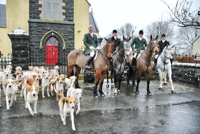 HUNTING:   Great sport in aid of a good cause