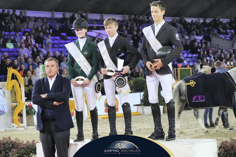 Three Irish in top four at FEI Pony Jumping Trophy final in Belgium