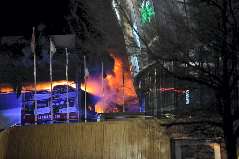 Fire causes Liverpool Show to be abandoned