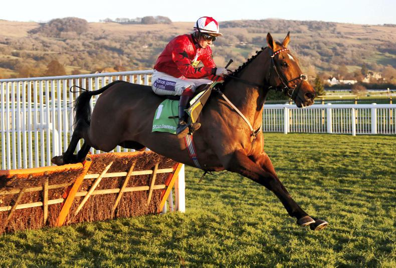 The New One battles to win Champion Hurdle Trial for a fourth time