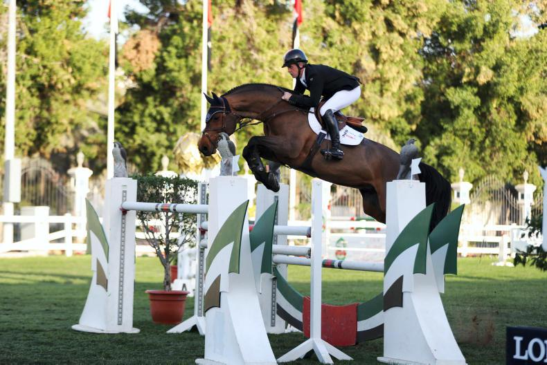 Breen and Simpson complete Irish one-two at five-star fixture in Dubai
