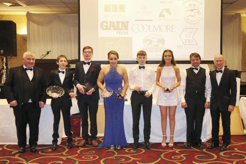 SJI PONY AWARDS:  Pony riders honoured at glittering awards