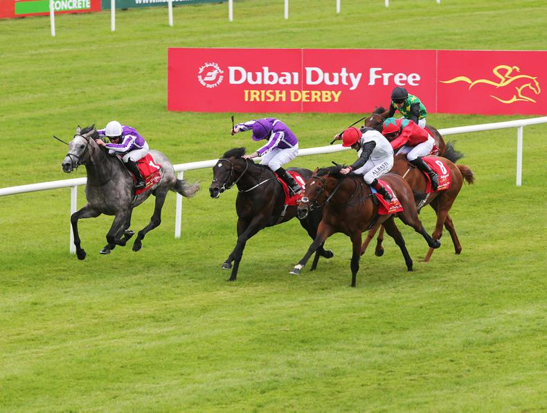 Irish Derby and Matron Stakes ranked best in the world in 2017