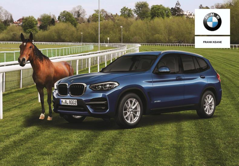 HORSE SENSE TRANSPORT: Frank Keane BMW presents the all-new BMW X3