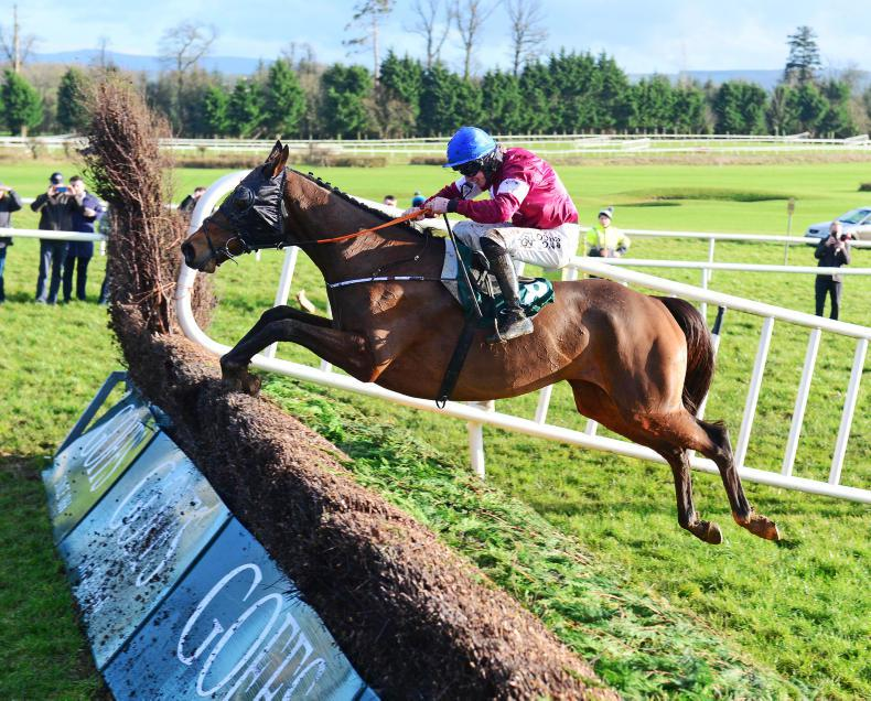 GOWRAN PARK THURSDAY:  Monbeg scoops another big one for Elliott
