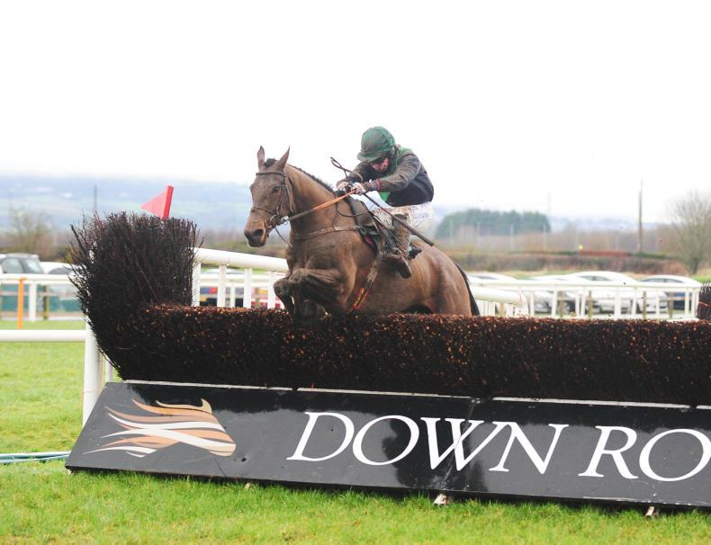 DOWN ROYAL WEDNESDAY: Benarty Hill takes the Down Royal Handicap Chase title