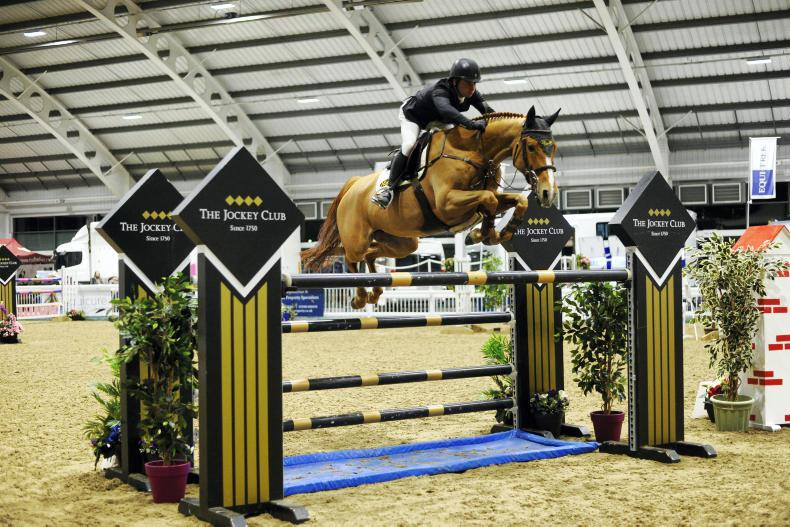 BRITISH SHOW JUMPING: Howley wins Aintree Grand Prix