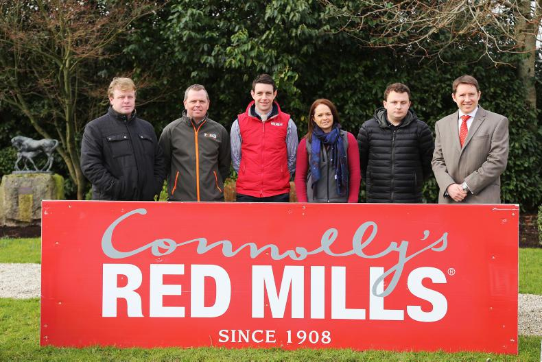 NEWS:  Connolly's Red Mills continue Spring Tour sponsorship