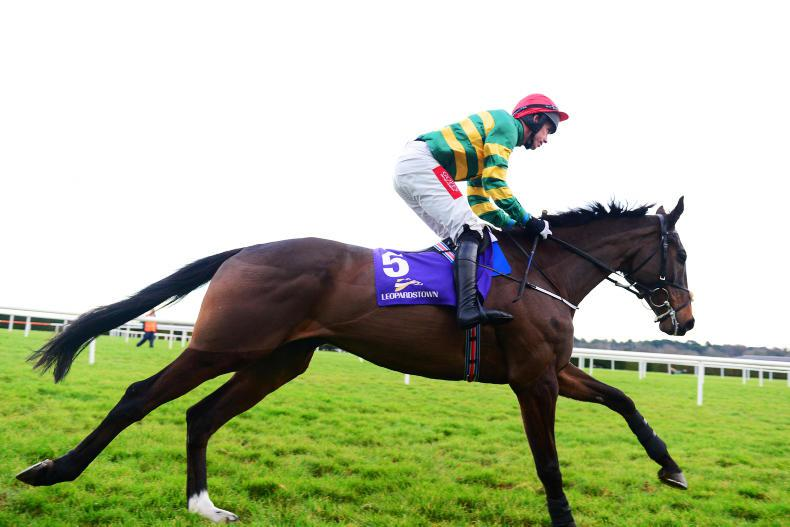 Joseph O'Brien on top as Edwulf takes Irish Gold Cup at Leopardstown
