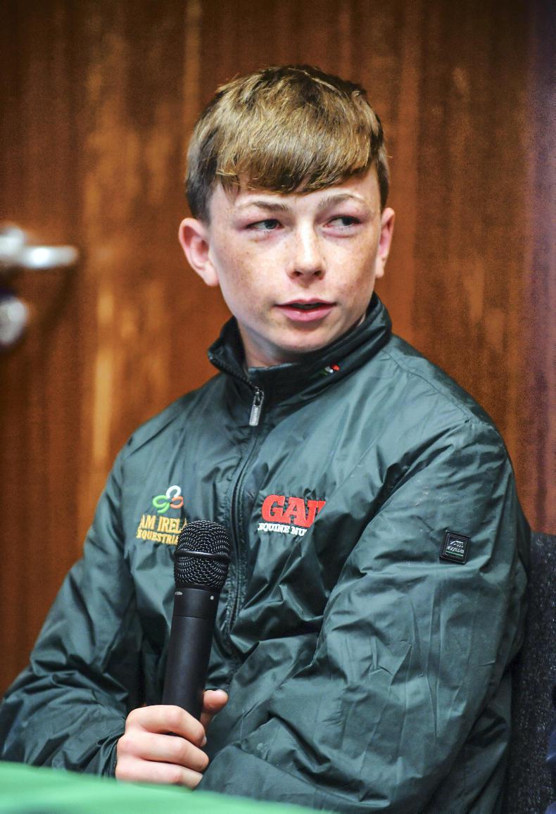 YOUNG RIDER PROFILE:  Seamus Hughes Kennedy