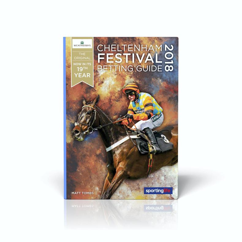 Order your Weatherbys Cheltenham Festival Betting Guide here