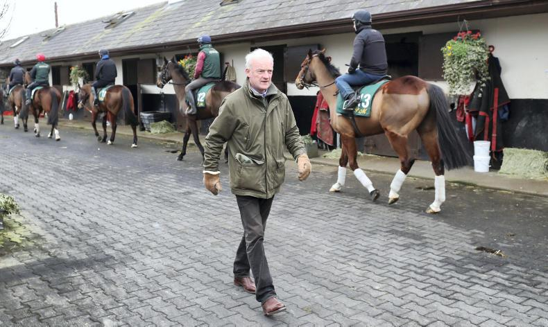 TALKING TRAINER: Willie Mullins