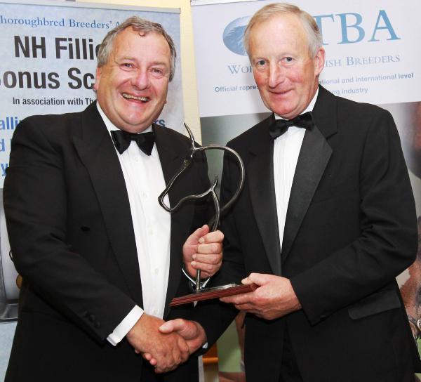 John Kidd honoured by ITBA's northern region