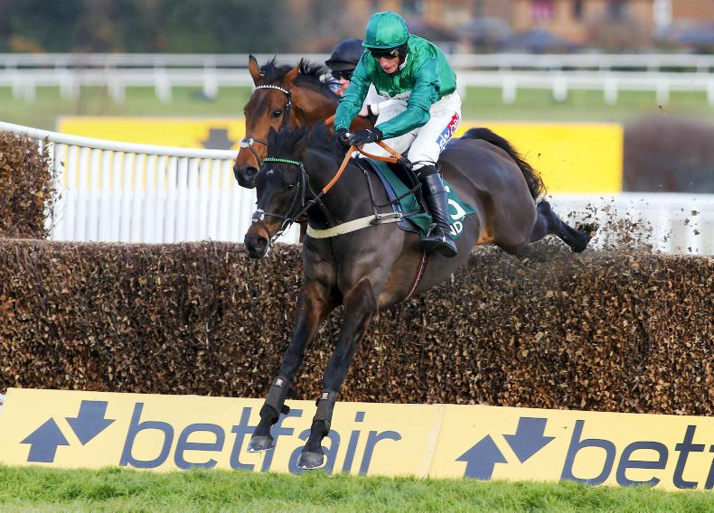 Sceau Royal ruled out of Arkle by Alan King following a setback