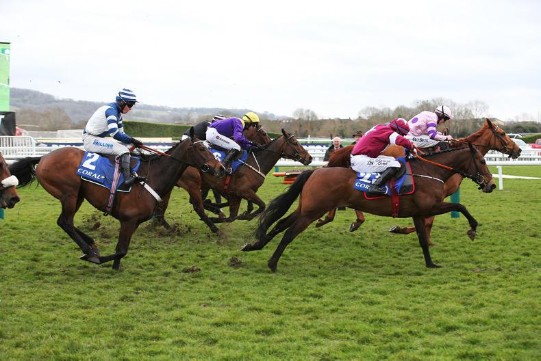 CHELTENHAM WEDNESDAY: Bleu Berry quickens up