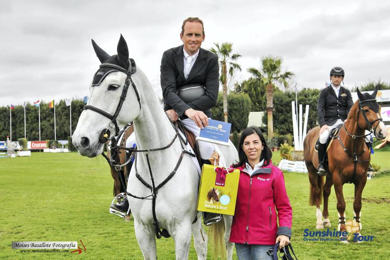 Great start to the weekend for Irish showjumpers