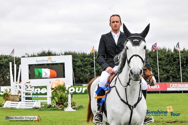 Trevor Breen and Bombay win €100,000 Invitational Grand Prix in Spain