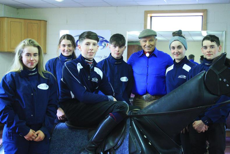 DIRECT FROM THE ACADEMY: Monty Roberts meets the trainees