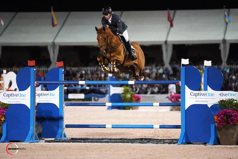 Third place for Conor Swail in $500,000 Rolex Grand Prix in Florida