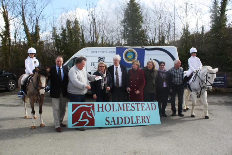 PONY TALES:  Holmestead Saddlery continues sponsorship