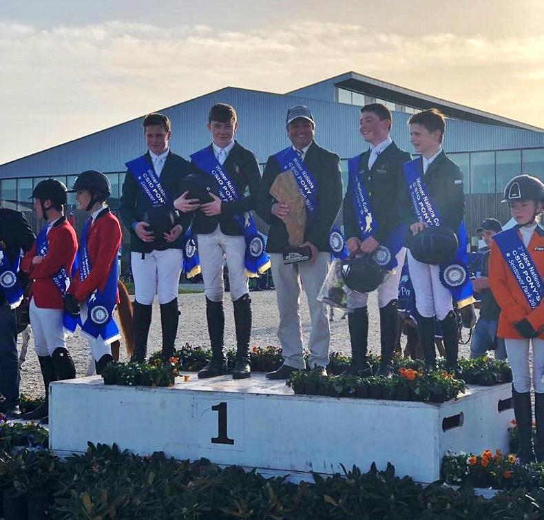 Superb win for Irish pony show jumping team in Belgium