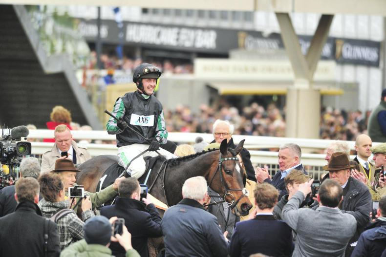Altior to bypass Aintree with Nicky Henderson eyeing Celebration Chase defence