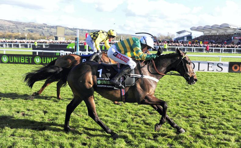 Nicky Henderson rules out Aintree Hurdle defence for Buveur D'Air