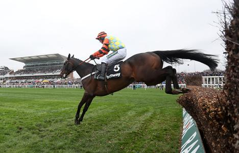 Might Bite bounds to Betway Bowl glory at Aintree