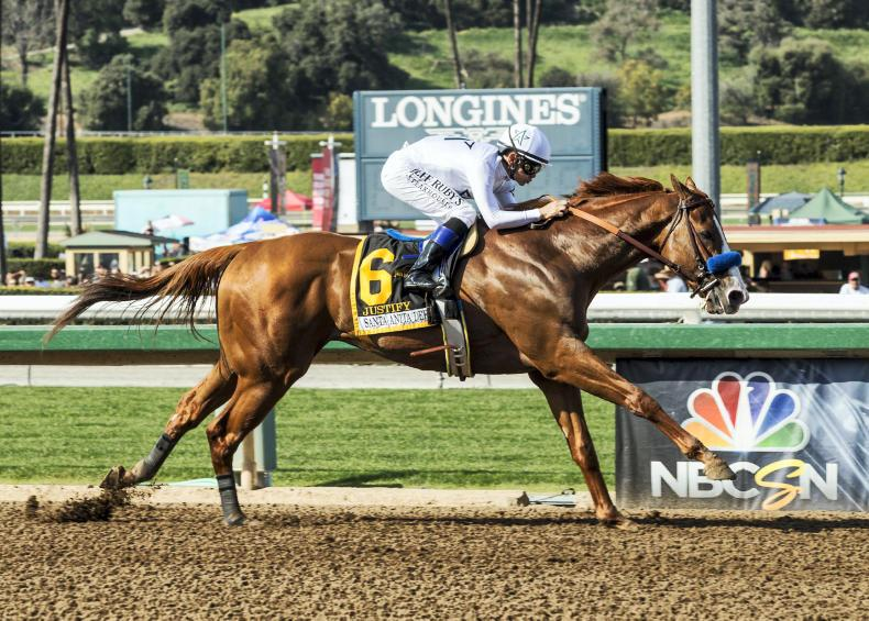 AMERICA: Impressive Justify states his case for Kentucky