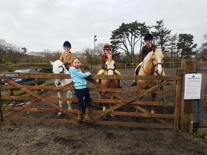 PONY TALES:  IPS youngsters out in force