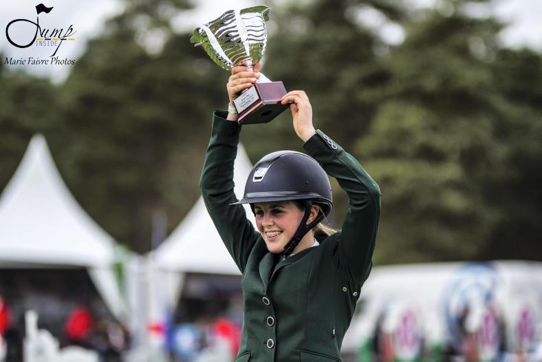INTERNATIONAL: Moran wins Fontainebleau Grand Prix