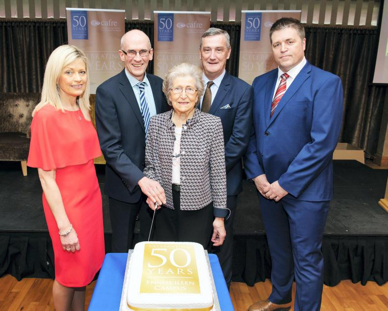 MARGIE McLOONE: Milestones marked by CAFRE dinner