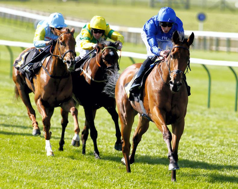 Soliloquy shines in Nell Gwyn at Newmarket