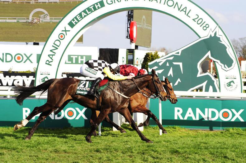 GRAND NATIONAL ROUND-UP: Not this year for Total Recall